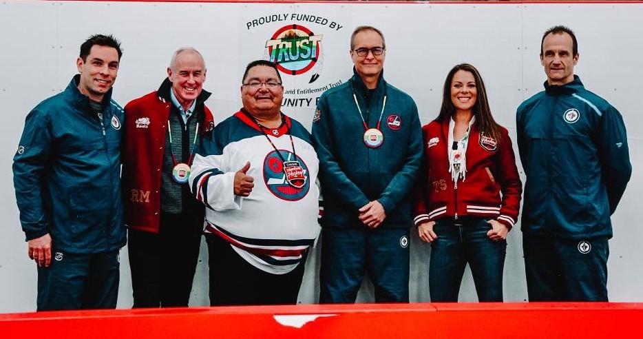 Peguis enjoys Hometown Hockeyweekend